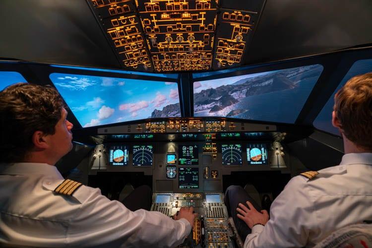 Flugsimulator Frankfurt Sint Maarten